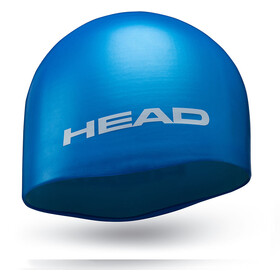 Head Silicone Moulded Swimcap light blue